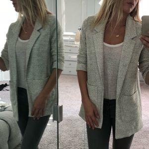Topshop Jersey Boucle Blazer Jacket